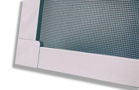 Москитная сетка на окна и двери ПВХ белая, м.кв.
